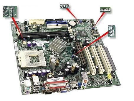 Buy best computer motherboard - Compaq 260646-101 Zz Top Amd K7 Motherboard System Board - New